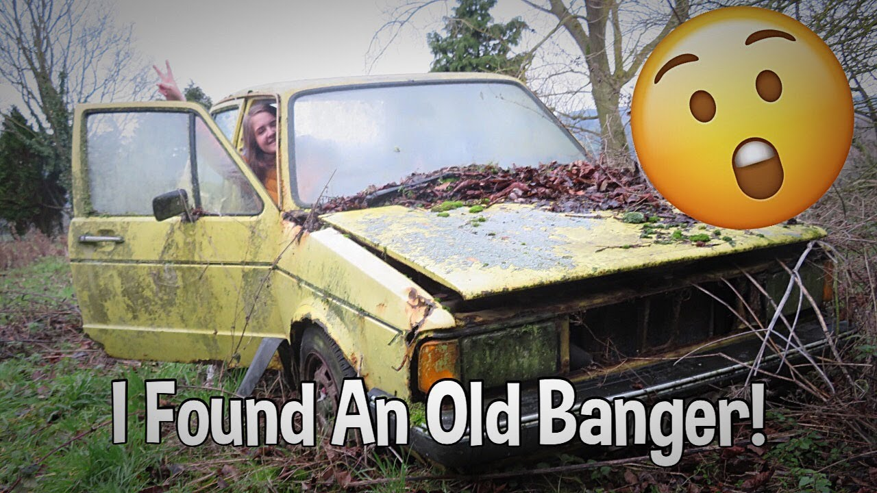I FOUND AN OLD BANGER IN AN ABANDONED GARDEN!