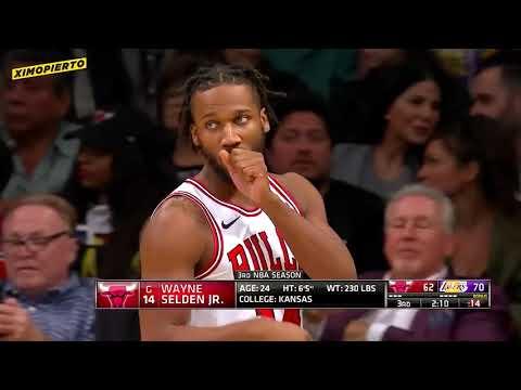 Los Angeles Lakers vs chicago bull 16-01-19
