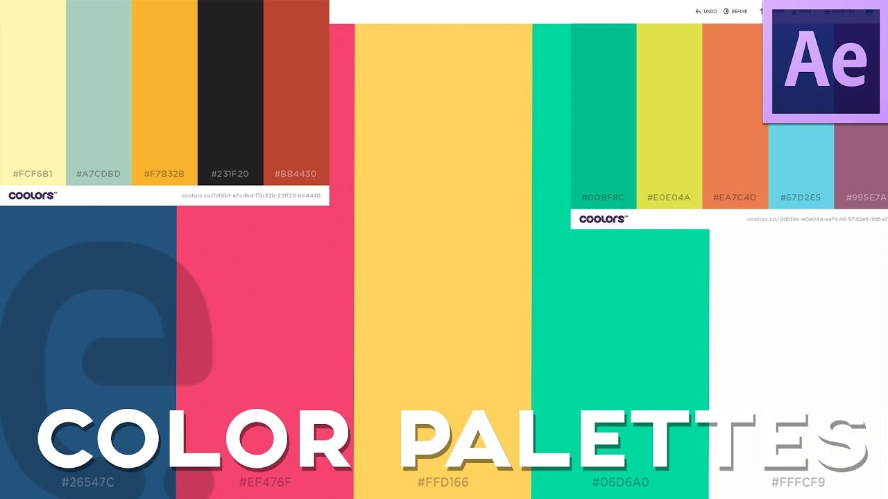 color scheme generator find and import color palettes
