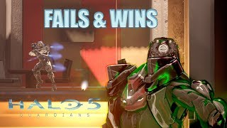 HALO 5 FAILS & WINS #1 (Best Halo 5: Guardians Funny Moments Compilation)