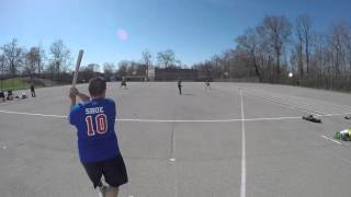Major League Stickball 2016-04-17 Queens Mavericks s at Pelham Village Game 1