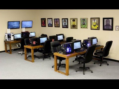 The Geek Lounge LAN Gaming Center and Internet Cafe