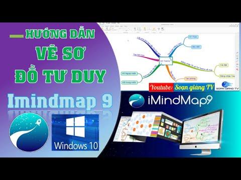 Hướng dẫn sử dụng Imindmap 9 cho WIN 10 vẽ sơ đồ tư duy dạy học đẹp và chuyên nghiệp