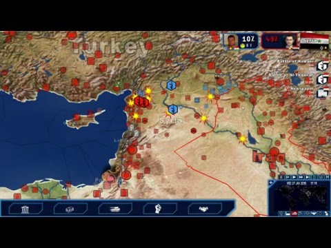 Geopolitical Simulator 4: Power & Revolution - Kurdish Syrian Rebels pt. 10