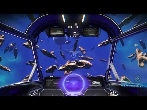 CREEPIEST BUG EVER: No Man's Sky Scary Ghost Freighter