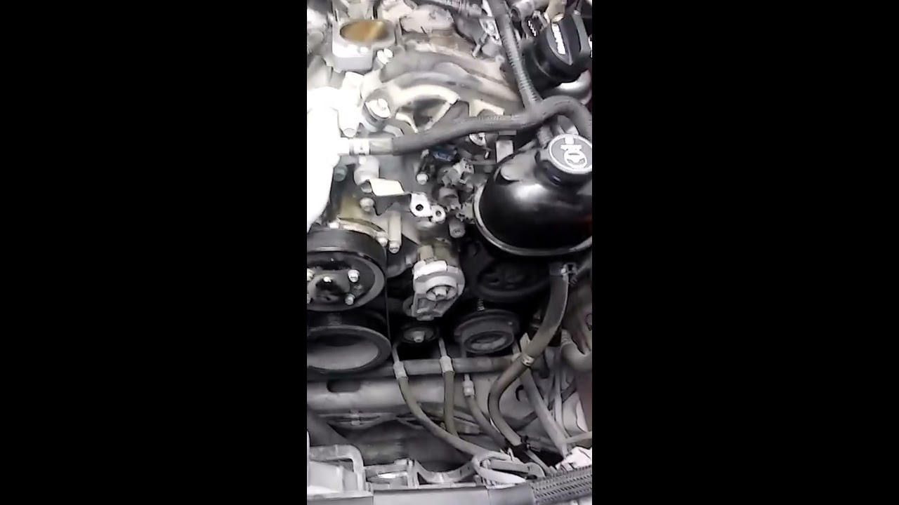 2008 Cadillac Cts 3 6l Thermostat Replacement Youtube