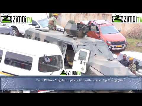 Mugabe fired from ZANU PF