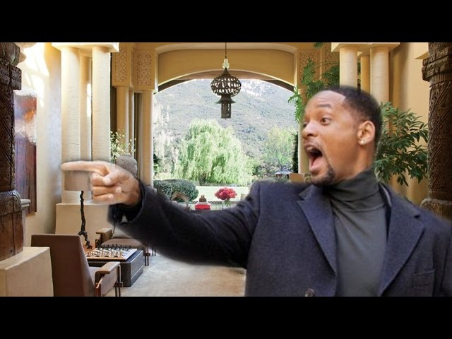 Will Smiths House in Malibu
