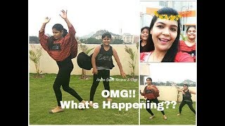 What these girls are doing ?|Bom Diggy Diggy Bom Bom performance