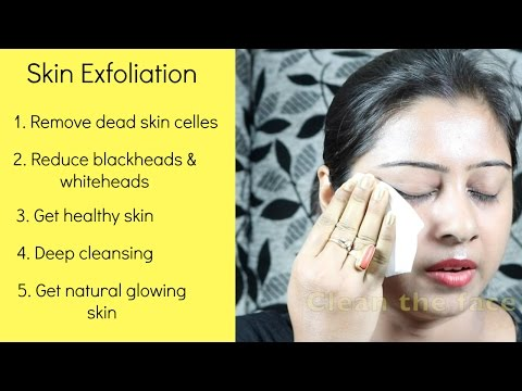 How to exfoliate your face naturally at home youtube how to exfoliate your face naturally at home ccuart Choice Image