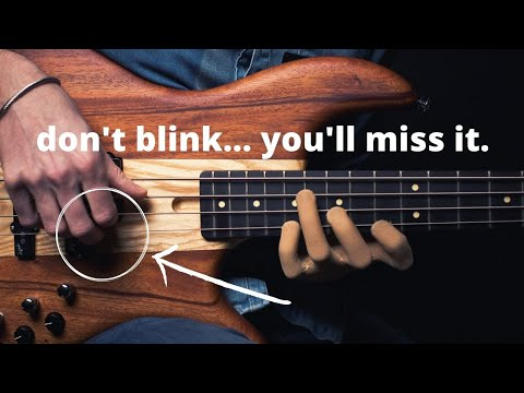 The hidden technique of the greatest bass players