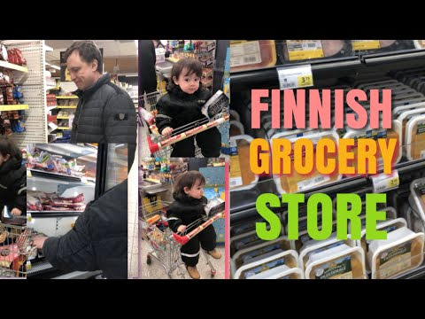 WHAT TO BUY IN FINLAND GROCERY STORE?! (FINNISH GROCERY STORES)