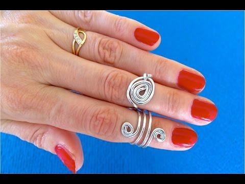 Кольца для ногтей своими руками