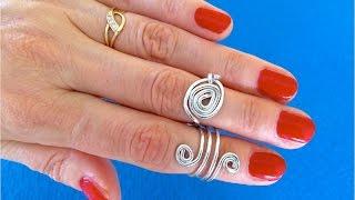 dIY Украшения из проволоки легко своими руками Кольца своими руками Wire rings