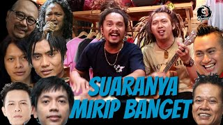 KEREN.. bisa niruin suara suara penyanyi Indonesia MANA YANG LEBIH MIRIP?