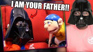 JEFFY MEETS HIS REAL DAD!   SML Movie: Jeffy's New Dad Reaction!