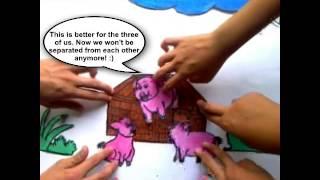 Three Little Pigs DigitaL Short Story (II-ARISTOTLE) Group2 Madapdap Resttlement High SchooL