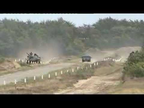 T72 Vs Leopard 1 Tank Race