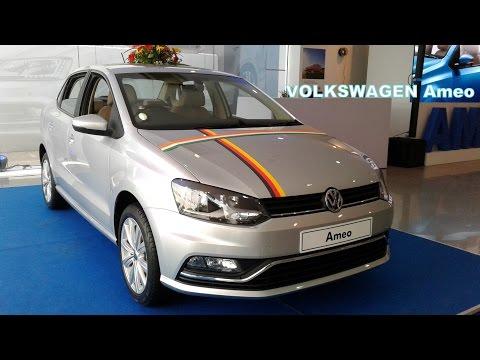 Volkswagen Ameo First Looks Petrol and Diesel Versions