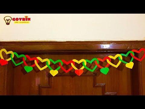 DIY Dekorasi kamar dari kertas origami keren | home decor
