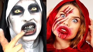 LAST MINUTE SCARY HALLOWEEN COSTUME IDEAS | Best Makeup Tutorials 2018 | Woah Beauty