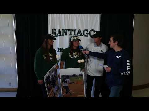 Santiago High School Signing Day 2018