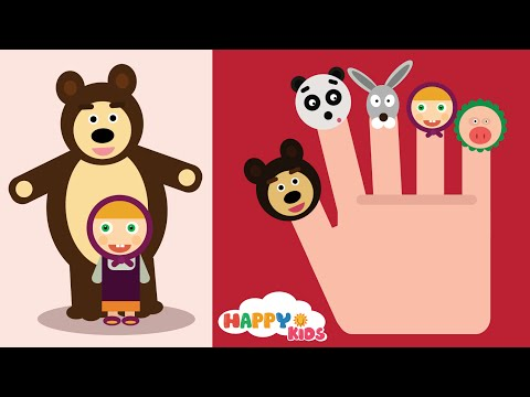 Thumbnail: Masha and The Bear Finger Family Song. Masha i medved. Маша и Медведь - Песня