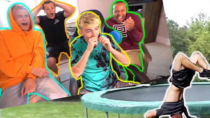 reacting to bad trampoline fails 3