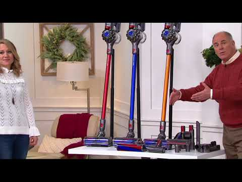 Dyson V8 Absolute Cordless Vacuum with 8 Tools & HEPA Filtration on QVC