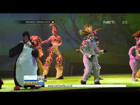 Pertunjukan Drama Musikal Madagascar