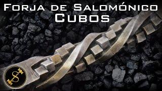 Forja de Salomónico de cubos  /Cube Twist
