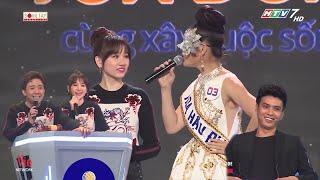 """Hari Won """"HẢ HÊ"""" khi chồng Trấn Thành NÓI KHÔNG LẠI """"Miss Địa Lý""""   Giọng Ca Bí Ẩn"""