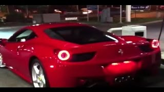 Graban a Ferrari pasando a 250 km/h en la Costanera Norte - CHV Noticias