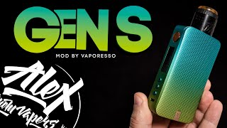 ТРЕЗВЫЙ ВЗГЛЯД - GËN S MOD by Vaporesso l Alex VapersMD review 🚭🔞