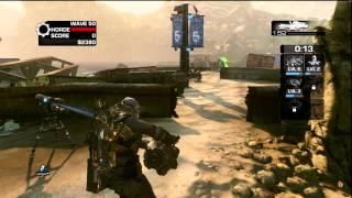 Gears of War 3: Horde mode wave 50