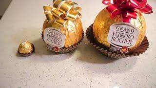 Giant Ferrero Rocher Chocolate!