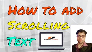How to Add Scrolling Text Effect in Video for YouTube