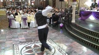 A Friend Dedicates Robot Dance To Newlyweds at A Wedding Reception Toronto Videography Photography