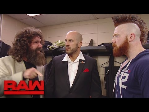 Cesaro and Sheamus try to get on the same page: Raw, Sept. 26, 2016