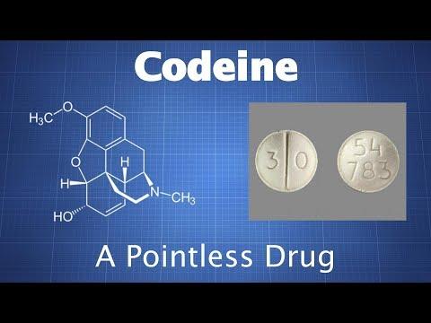 Codeine: A Fairly Pointless Drug
