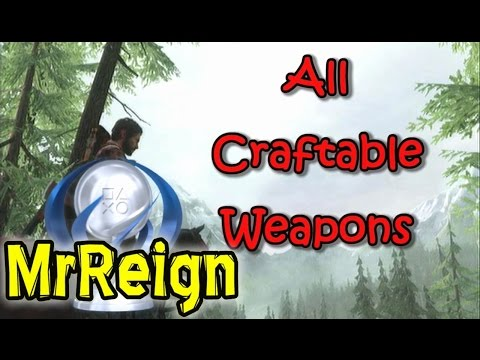 The Last Of Us - All Craftable Weapon Locations
