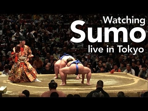 Live Sumo in Tokyo | Ep. 076 | OurLifeInJapan