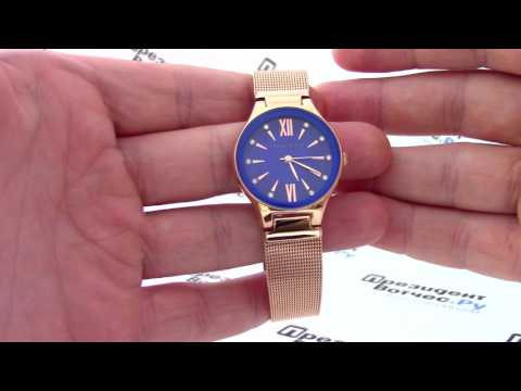Часы Anne Klein 2418 CBRG - видео обзор от PresidentWatches.Ru