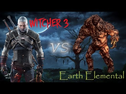 The Witcher 3: Wild Hunt - Earth Elemental / Элементаль земли