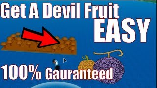 How to easily find Devil Fruits | One Piece Bizarre Adventures | ROBLOX