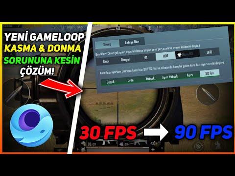 YENİ GAMELOOP KASMA SORUNUNA %100 ÇÖZÜM! - GAMELOOP 90 FPS AYARLARI (SABİT 90 FPS ALMAK) PUBG MOBİLE