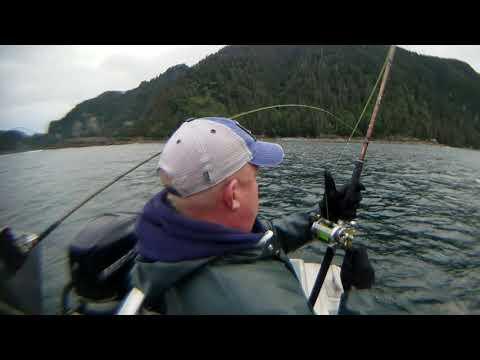 King And Coho Salmon Fishing At  Kingfisher Lodge, Prince Of Wales Island, Craig Alaska