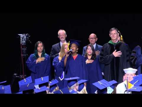 Keysha Royster, National Anthem, WGU August 2015 Summer Commencement