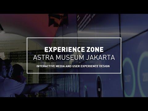 NM PORTFOLIO | INTERACTIVE UX ASTRA MUSEUM JAKARTA