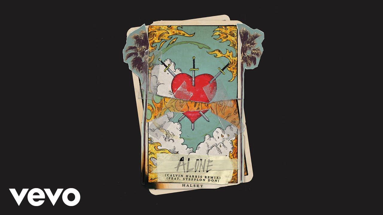 Halsey - Alone (Calvin Harris Remix/Audio) ft. Stefflon Don